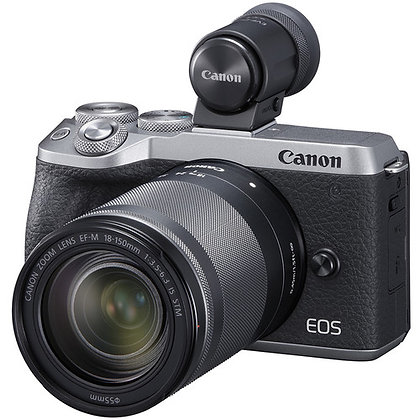 Canon EOS M6 Mark II Mirrorless Digital Camera with 18-150mm Lens