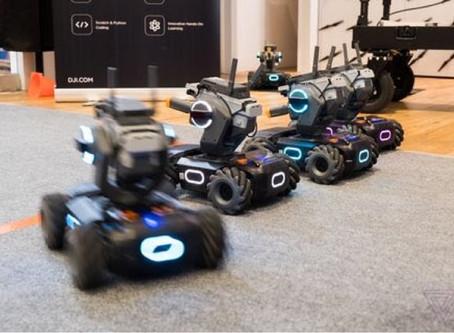 El dron más nuevo de DJI es un tanque destinado a enseñar a los niños cómo codificar