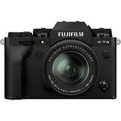 FUJIFILM X-T4 Mirrorless Digital Camera with 18-55mm Lens