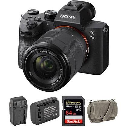 Sony Alpha a7 III Mirrorless Digital Camera with 28-70mm Kit