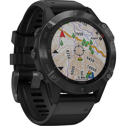 Garmin fenix 6 Pro Multisport GPS Smartwatch 47mm Black/ Black Band