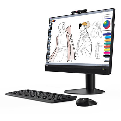 "Lenovo 23.8"" All-in-One Desktop Computer"