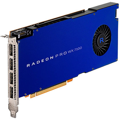 AMD Radeon Pro Serie WX Graphics Card (4 x DisplayPort)