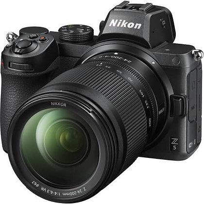 Nikon Z 5 Mirrorless Digital Camera with 24-200mm Lens