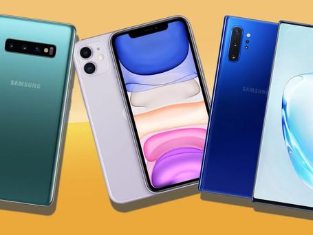 Los 10 mejores teléfonos inteligentes de principios del 2020