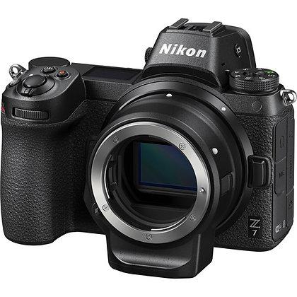 Nikon Z7 Mirrorless Digital Camera with FTZ Mount Adapter Kit