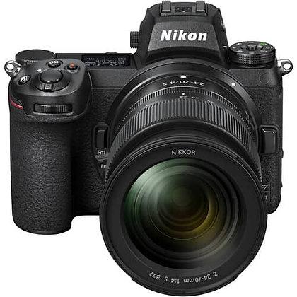 Nikon Z 7II Mirrorless Digital Camera with 24-70mm f/4 Lens