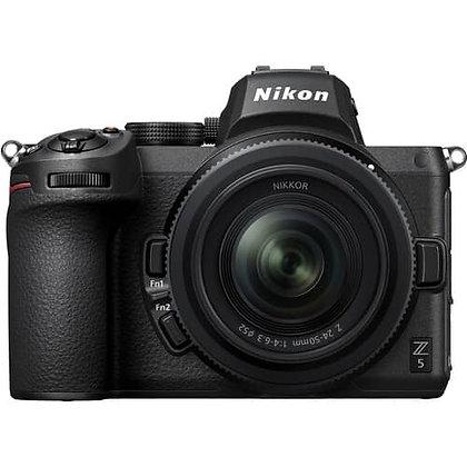 Nikon Z 5 Mirrorless Digital Camera with 24-50mm Lens