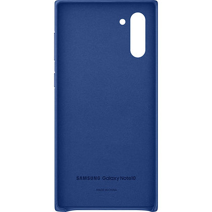 Samsung Galaxy Note10 Leather Back Cover