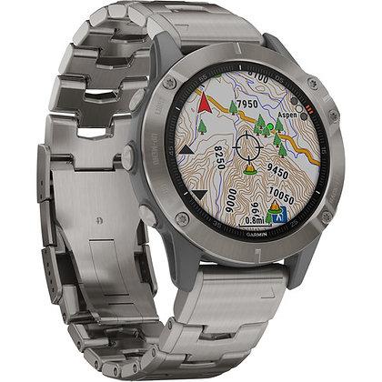 Garmin fenix 6 Sapphire Multisport GPS Smartwatch 47mm
