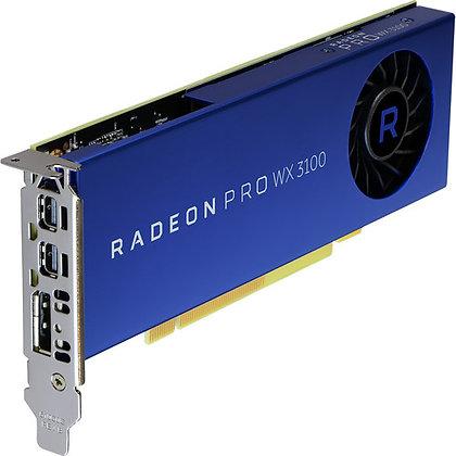 AMD Radeon Pro Serie WX Graphics Card (2 x Mini DisplayPort 1 x DisplayPort)
