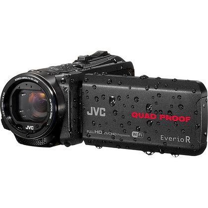 JVC Serie Everio GZ-RX Quad-Proof HD Camcorder with 40x Optical Zoom (PAL)