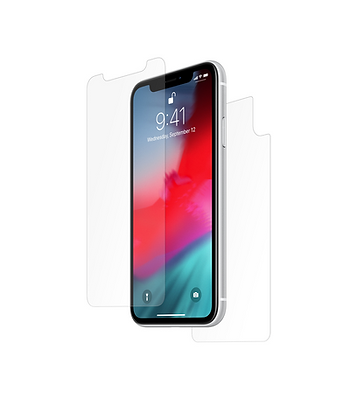 Front and Back Film Protection for iPhone XR