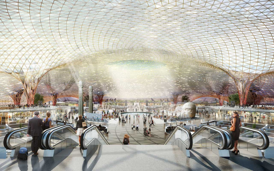Foster + Partners and FR-EE will design the world's most sustainable airport in Mexico City.