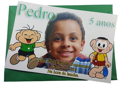 FotoConvite Turma da Mônica