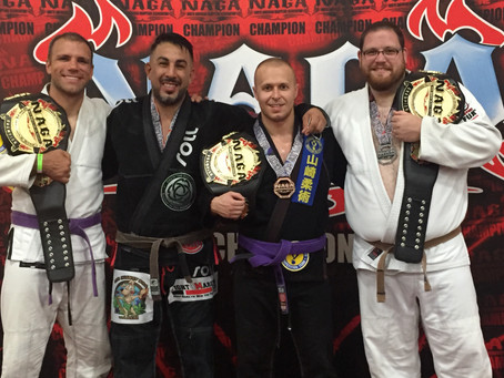 NAGA - CHAMPIONSHIP BELTS FOR IRONHIDE ACADEMY