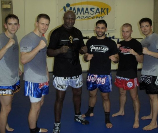 Ernesto Hoost and R'ville Crew