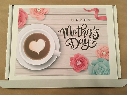 Mothers Day Letterbox Tea and Cake