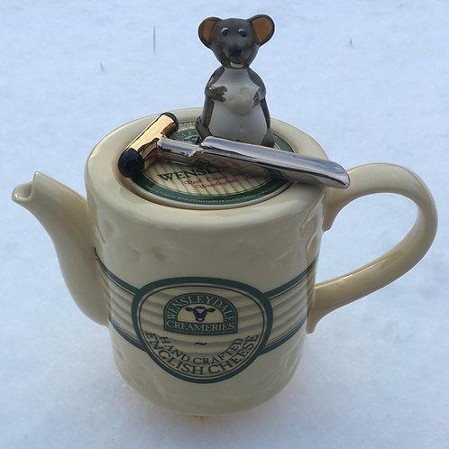 Wensleydale Creamery handmade Teapot