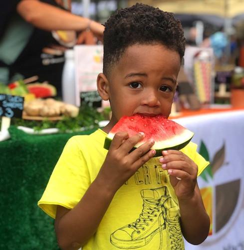 Bronx Night Market Watermelon pops