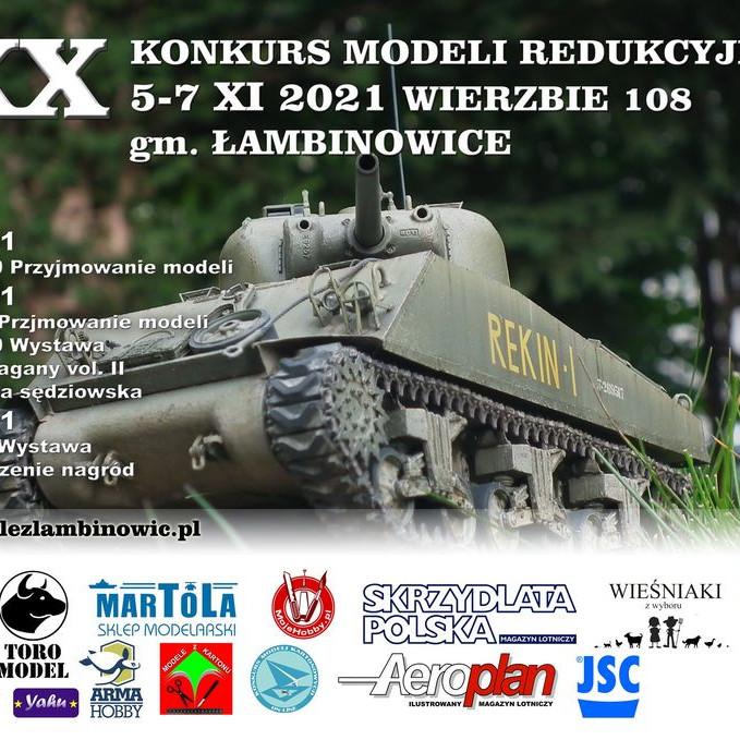 XX Konkurs Modeli Redukcyjnych Łambinowice 2021