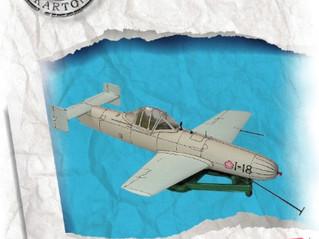 Yokosuka MXY7 Ohka - model kartonowy