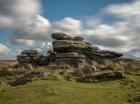 A beautiful walk to one of the many tors on Dartmoor