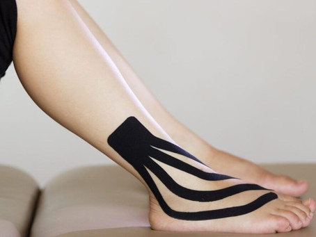 Kinesio-tape: What is it and does it work???