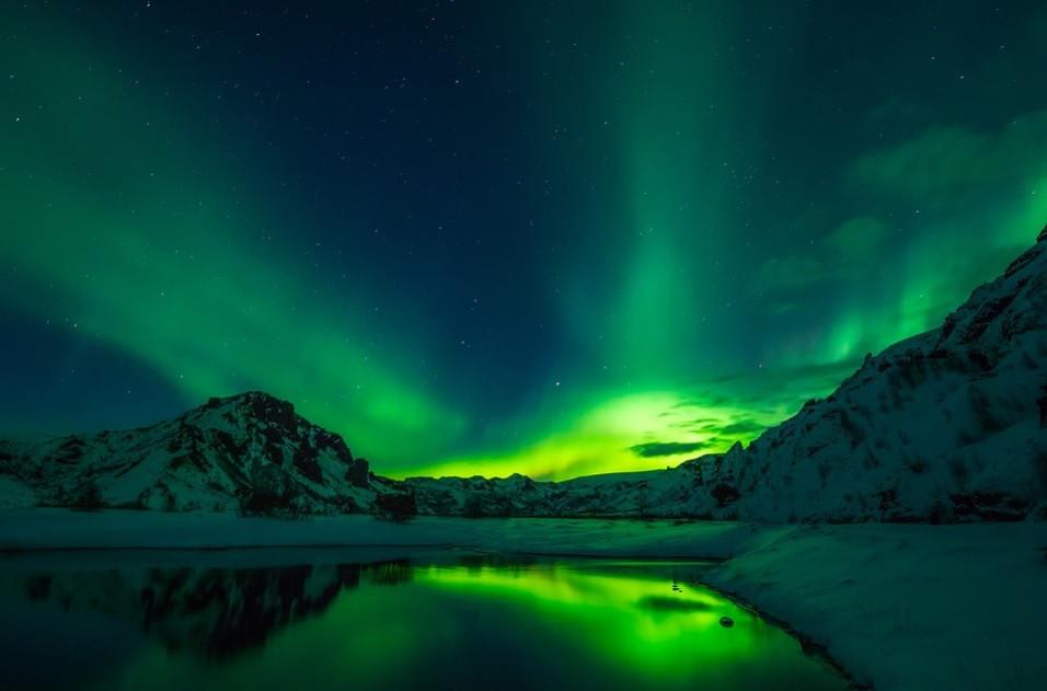 Luzes da Aurora Boreal – Hemisfério Norte | Foto Pixabay