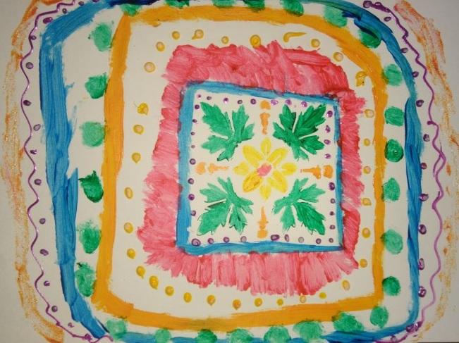 Desenho Infantil | Mandala Encantada