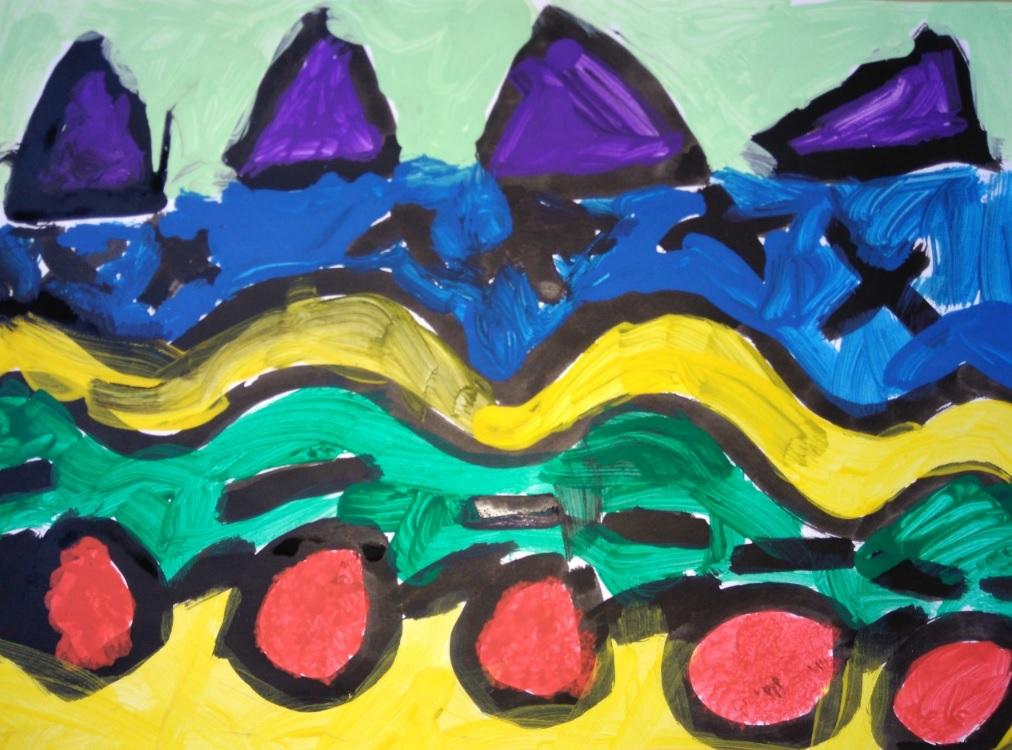 Desenho Infantil | Barquinhos no mar