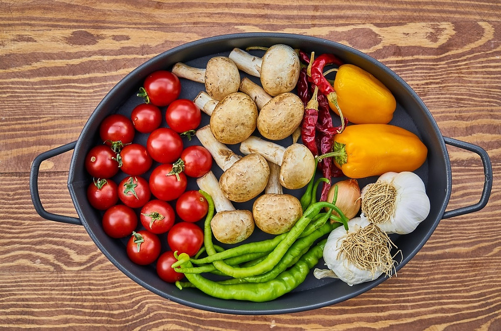 Caçarola com Vegetais Orgânicos | Foto Pixabay