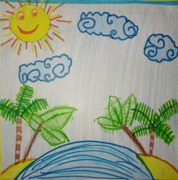 Desenho Infantil | Ilha Encantada