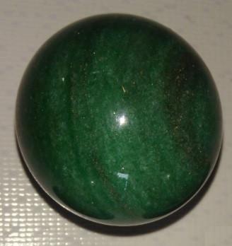 Esfera de Quartzo Verde