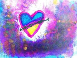 Desenho Infantil | Coração Iluminado