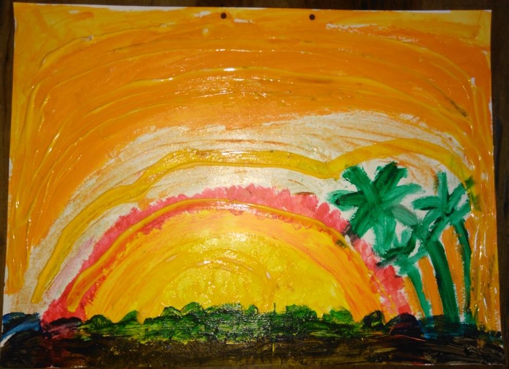 Desenho Infantil | Amanhecer