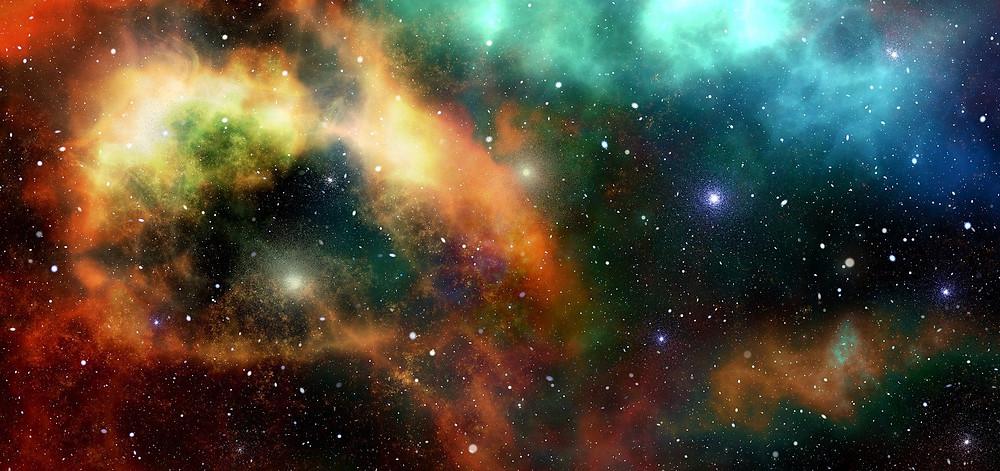 O Universo com bilhares de estrelas   Foto Pixabay