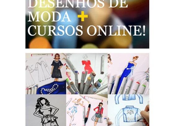 Curso de Moda - Aprenda a Desenhar Roupas