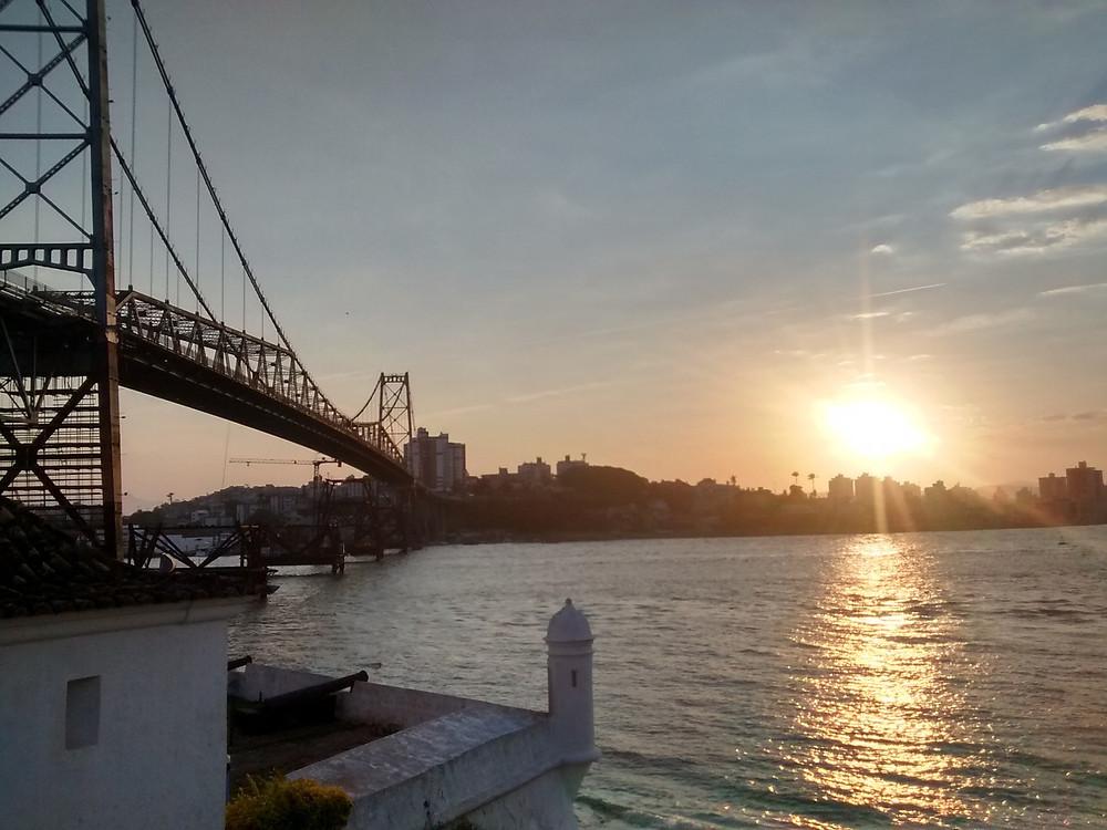 Ponte Hercílio Luz, Florianópolis/ SC | Foto Pixabay
