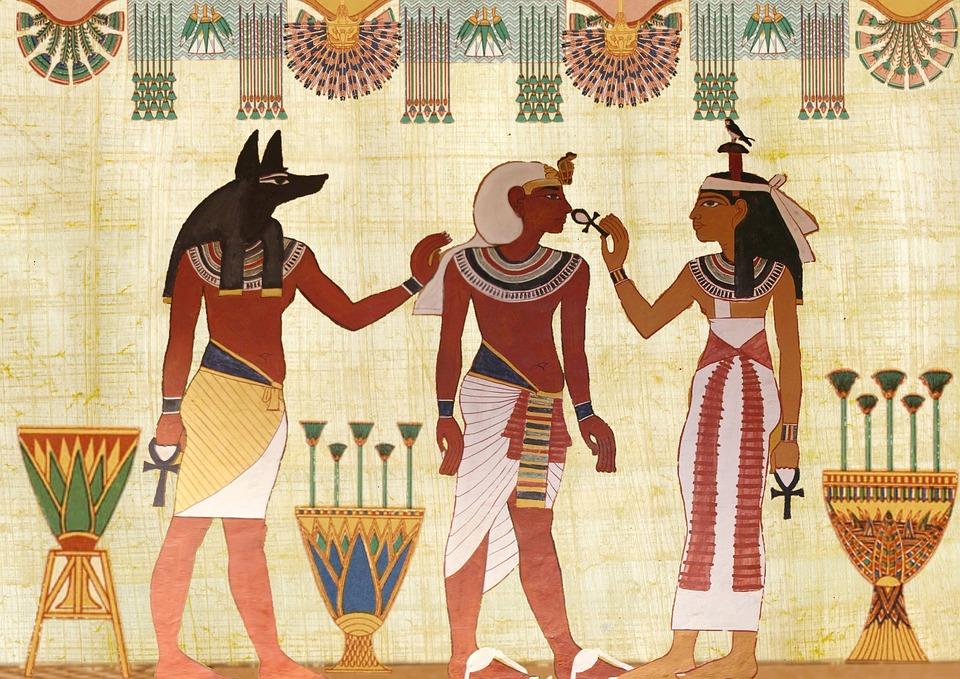 Desenho Egípcio | Foto Pixabay