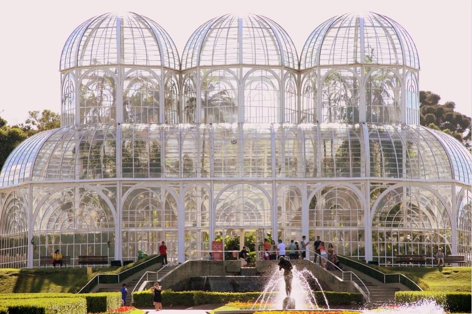 Jardim Botânico, em Curitiba/ PR | Foto Pixabay