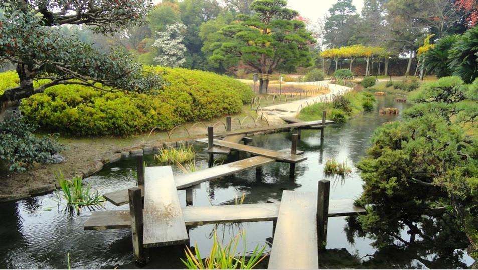 Parque Okayama no Japão com Jardim sensorial | Foto Pixabay