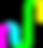 Logotipo Kids do Site Dimensão da Natureza, nas cores Rosa Pink, Azul Ciano, Verde Limão e Amarelo