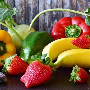 Alimente-se com mais Frutas e Verduras