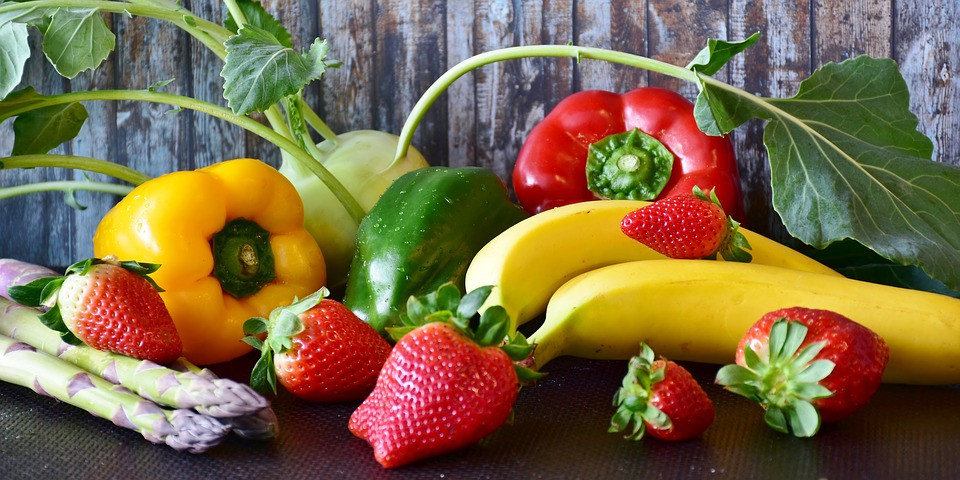 Frutas e verduras | Foto Pixabay