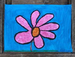 Desenho Infantil | Flor margarida