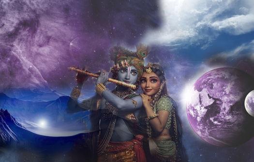 Oração de Krishna