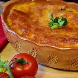Lasanha Vegetariana em Família