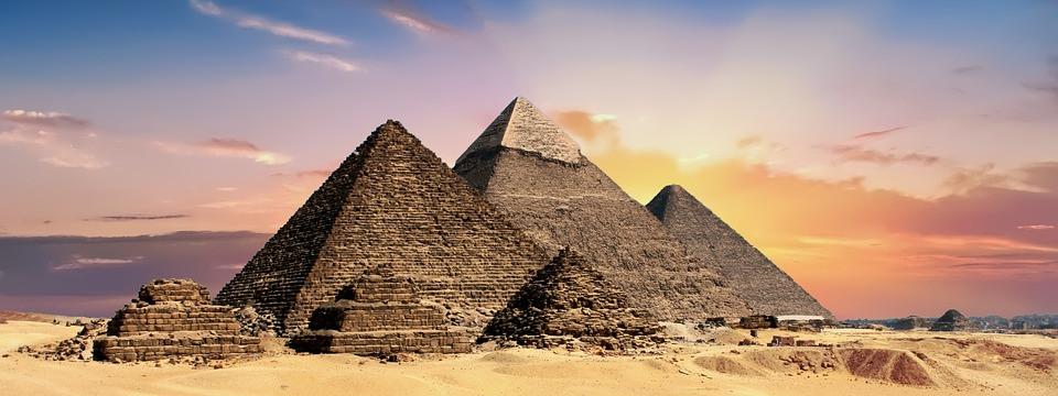 Pirâmides do Egito   Foto Pixabay