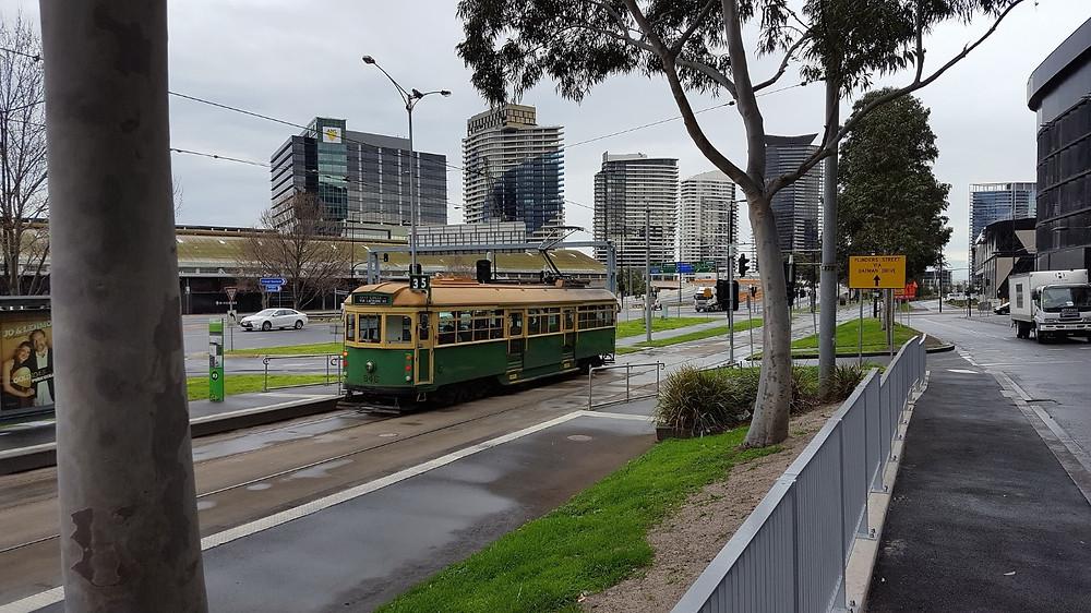 Transporte Público em Melbourne | Foto Pixabay